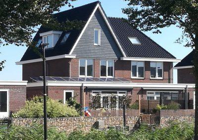 12 zonnepanelen geplaatst woning Beverwijk